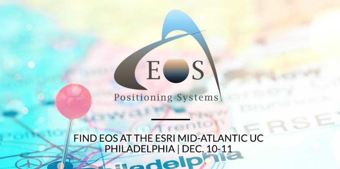 Visit Land Logics and Eos at the 2019 Esri Mid-Atlantic UC event in Philadelphia from Dec. 10-11