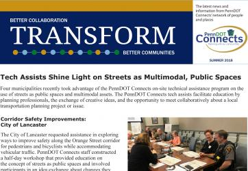 Public Outreach: PennDOT Connects Newsletter