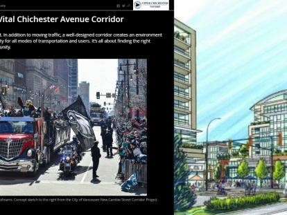 Public Outreach: Chichester Avenue Corridor Story Map